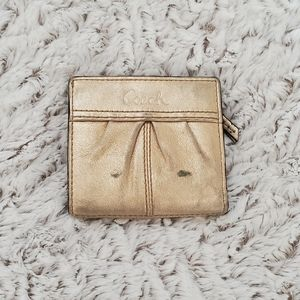 Coach Gold Wallet